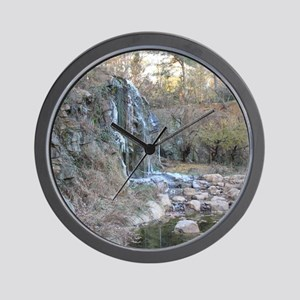 Bearly Iced Waterfall Wall Clock