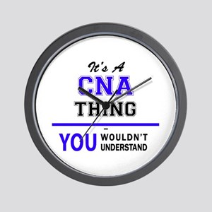CNA thing, you wouldn't understand! Wall Clock