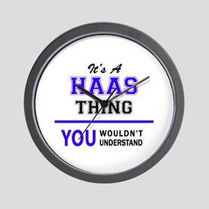 HAAS thing, you wouldn't understand! Wall Clock