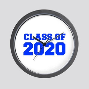 CLASS OF 2020-Fre blue 300 Wall Clock
