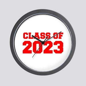CLASS OF 2023-Fre red 300 Wall Clock