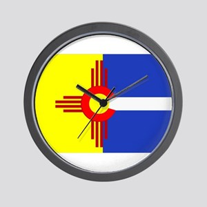 NM/CO Wall Clock