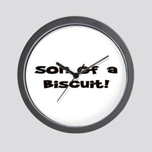 Son of  Biscuit! Wall Clock
