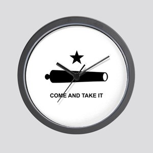 Come And Take It - Wall Clock