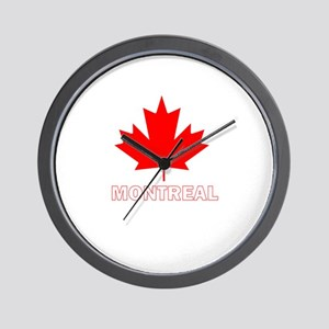 Montreal, Quebec Wall Clock