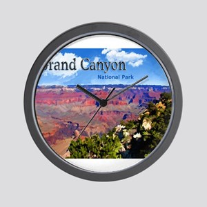 Grand Canyon NAtional Park Poster Wall Clock