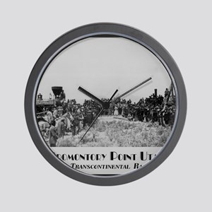 Promontory Point Utah Wall Clock