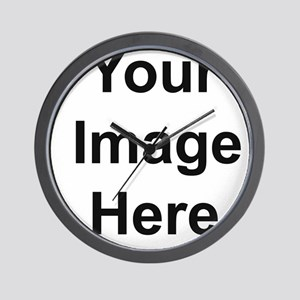 Mens Apparel Image on Back Wall Clock