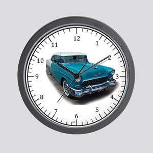 1955 Chevy Bel Air Wall Clock