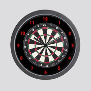 Dart Board Game Wall Clock