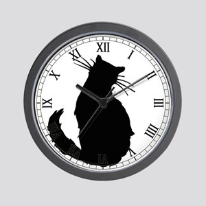 Black Cat Classic Wall Clock