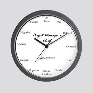 Project Manager Wall Clock