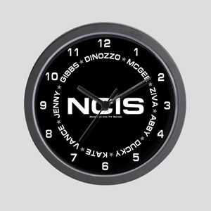 NCIS: Roster Wall Clock