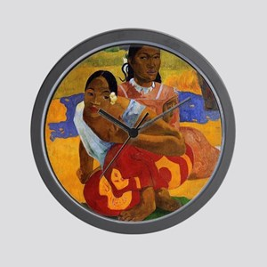 Paul Gauguin Getting Married Wall Clock