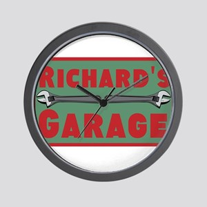 Personalized Garage Wall Clock