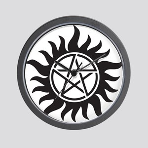 Supernatural Symbol Wall Clock