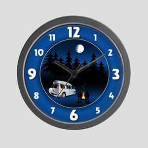 Roadtrekker Wall Clock