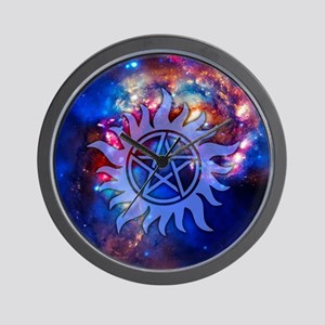 Supernatural Cosmos Wall Clock