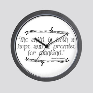 Hope Promise Wall Clock