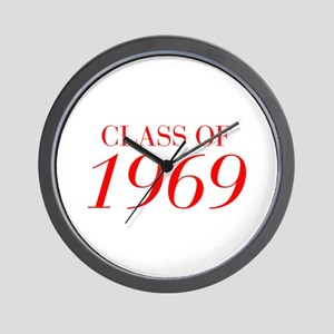CLASS OF 1969-Bau red 501 Wall Clock