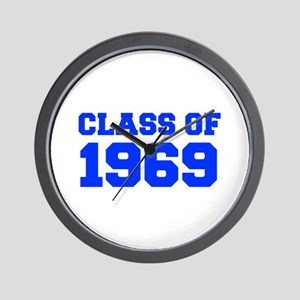 CLASS OF 1969-Fre blue 300 Wall Clock