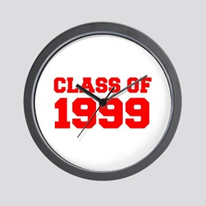 CLASS OF 1999-Fre red 300 Wall Clock