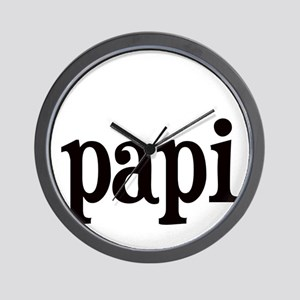 papi Wall Clock