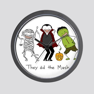 Monster Mash - Halloween Wall Clock