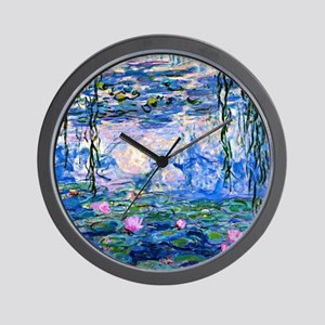 Monet - Water Lilies, 1919 Wall Clock