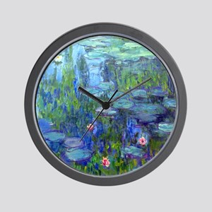 12mo Monet 20 Wall Clock