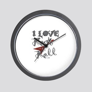 I Love Rock-n-Roll Wall Clock