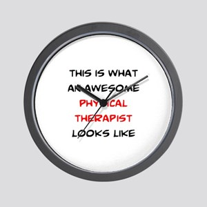 awesome physical therapist Wall Clock
