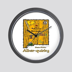 NM-Alber-quirky! Wall Clock