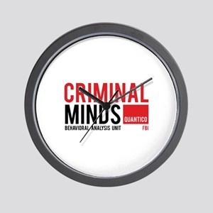 Criminal Minds Wall Clock