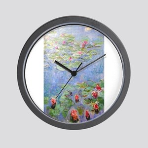 Claude Monet's Water Lilies Wall Clock