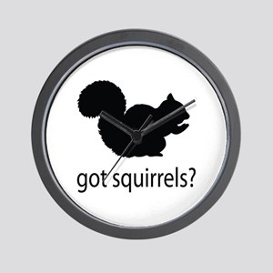Got squirrels? Wall Clock