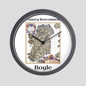 Boyle Co Roscommon Ireland Wall Clock