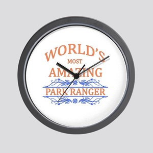 Park Ranger Wall Clock