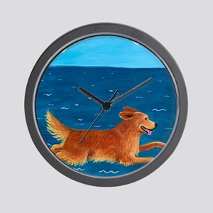 Dog Wall Clocks Cafepress