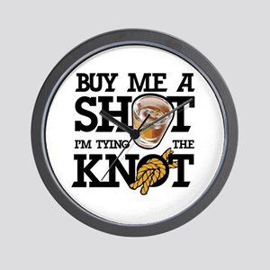 Buy Me A Shot Wall Clock