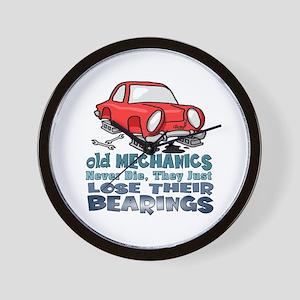 Auto Repair Wall Clocks - CafePress