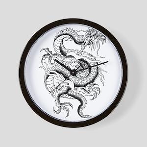 b4afdc61a Girl With The Dragon Tattoo Standard Wall Clocks - CafePress