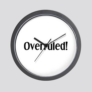 overruled Wall Clock