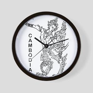 Cambodia Wall Clocks - CafePress