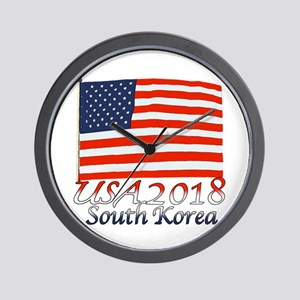 Pyeongchang, South Korea Wall Clock