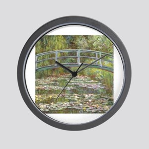 Monet Bridge over Water Lilies Wall Clock