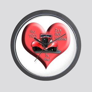 Helaine's GUY Valentine Wall Clock
