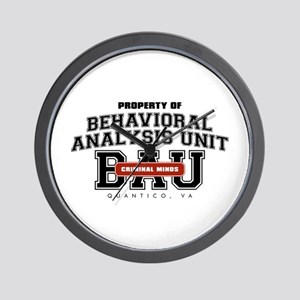 Property of Behavioral Analysis Unit - BAU Wall Cl