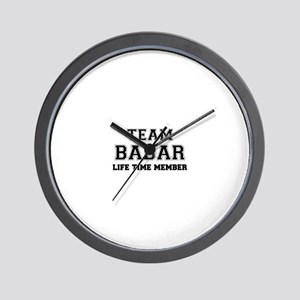 Team BABAR, life time member Wall Clock