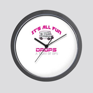 It's All Fun Wall Clock